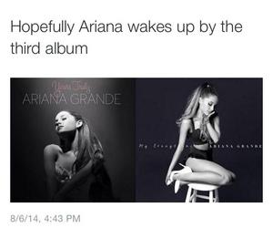 funny, ariana grande, and album image