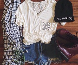 fashion, outfit, and shirt image