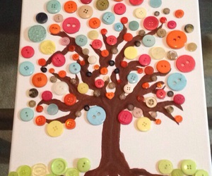 buttons and creative image