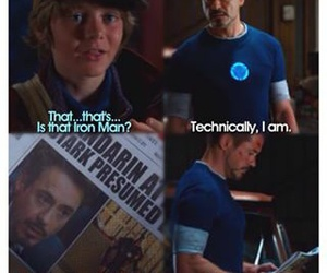 dead, humor, and iron man image