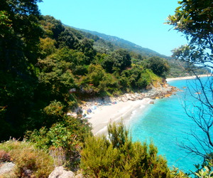 blue, nature, and Greece image