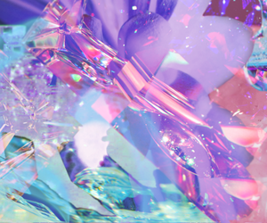 purple, crystal, and pink image