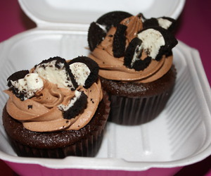 chocolate, cupcakes, and photography image