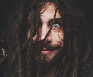 dreads, beard, and dreadlocks image