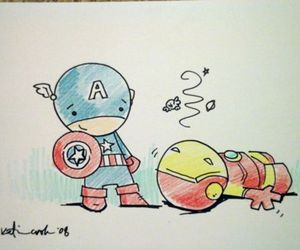 Avengers and cute image