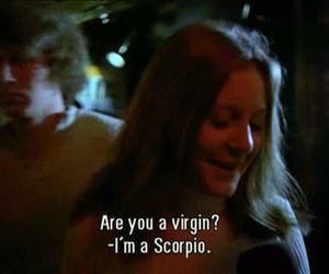 scorpio, virgin, and funny image