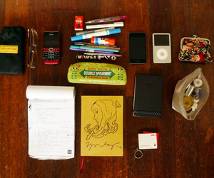 bag, college, and school image