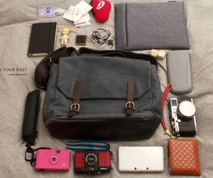 bag, canon, and college image