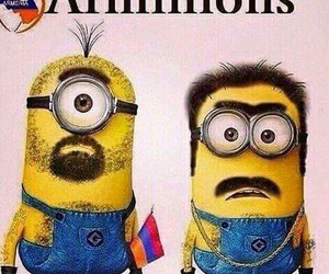 armenia, cartoon, and despicable me image