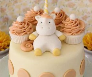 cake, unicorn, and cute image