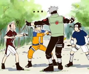 lol, team 7, and naruto uzumaki image