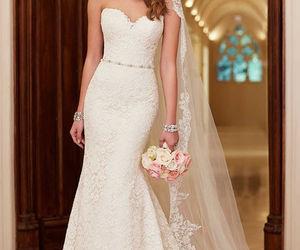 wedding, wedding dress, and wedding gowns image