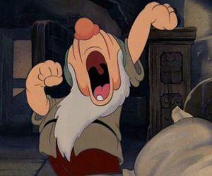 snow white, disney, and sleep image