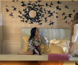 butterfly, gossip girl, and room image
