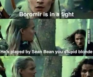 aragorn, funny, and Legolas image