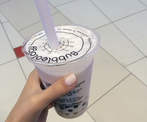 bubble tea, aesthetic, and pastel image