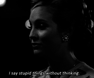 quote, stupid, and the vampire diaries image