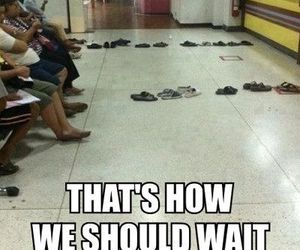 funny, waiting, and lol image