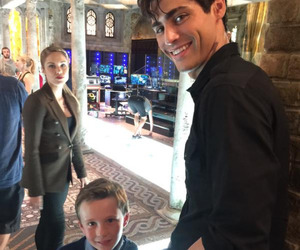 shadowhunters, alec lightwood, and max lightwood image