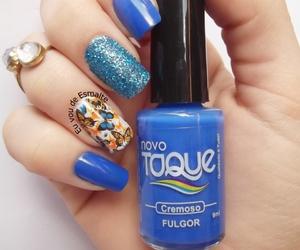 nailpolish, nails, and unhas image
