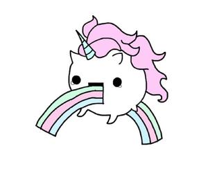unicorn, overlay, and blue image