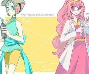 pearl, adventure time, and princess bubble gum image