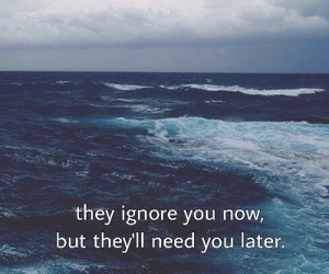 but, ignore, and you image