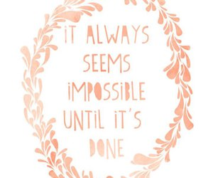 quotes, impossible, and life image