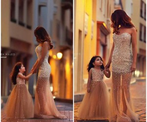 daughter, dress, and love image