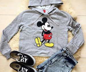 fashion, mickey mouse, and outfit image