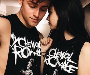 acacia brinley, my chemical romance, and couple image