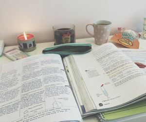 motivation, notes, and study image
