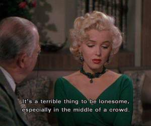 Marilyn Monroe, quotes, and movie image