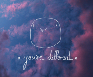 different, quotes, and sky image
