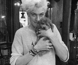 boy, lucky blue smith, and dog image