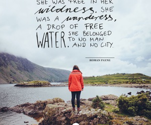 free, water, and wildness image