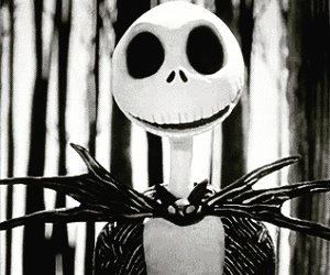 jack, gif, and black and white image