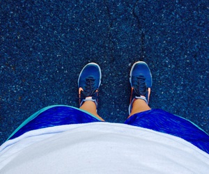 run, shorts, and sneakers image