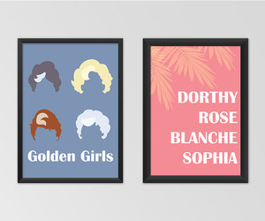 blanche, rose, and the golden girls image