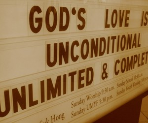 god, love, and unlimited image