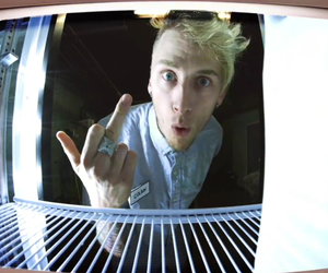 almost, machine gun kelly, and richard colson baker image