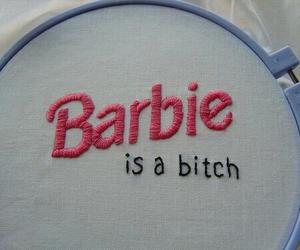 barbie, bitch, and grunge image