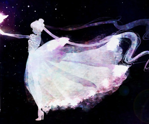 anime, beautiful, and princess serenity image