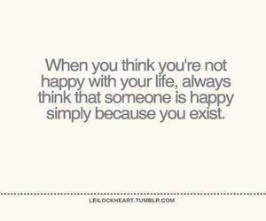 exist, quote, and happy image