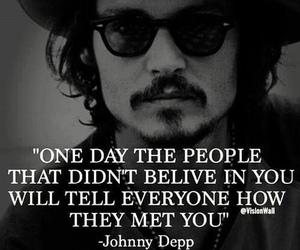 believe, quotes, and johnny depp image