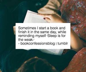 book, reading, and sleep image