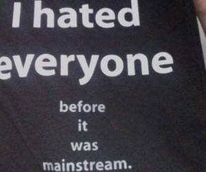 black, grunge, and hate image