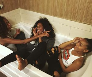 friends and melanin image