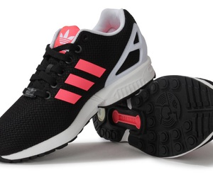 adidas, shoes, and pink white black image