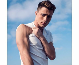 colton haynes and model image
